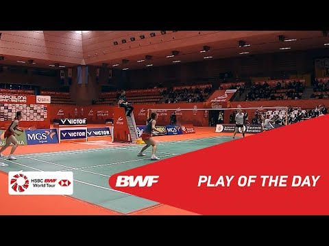 Play Of The Day | Barcelona Spain Masters 2019 F | BWF 2019