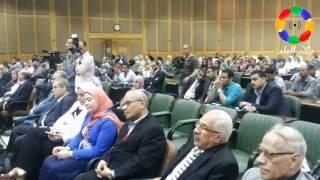 الدسوقى وجعيص يفتتحان فعاليات المؤتمر السنوي الرابع لقسم الأمراض الصدرية