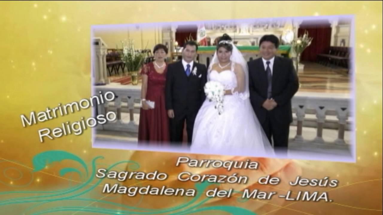Matrimonio Catolico Requisitos Peru : Matrimonio civil y religioso en lima. youtube