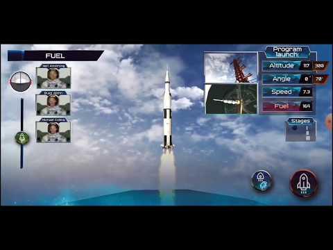 Apollo 11 Space Flight Agency Game