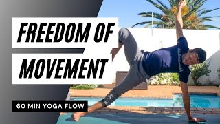 Freedom of Movement (60 min) | with Steven from Yoga Works