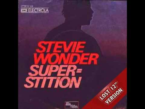 Stevie Wonder   Superstition Lost 12'' Version