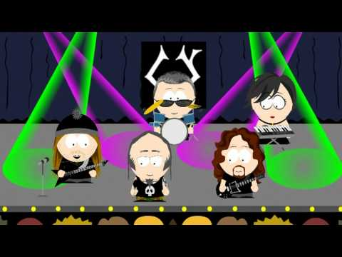 Crematory - Left the Ground (short version in south park-style)