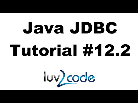 Java JDBC Tutorial - Part 12.2: Connect Java Swing GUI to a MySQL Database - Create the DAO