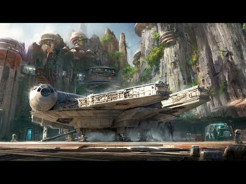 Thumbnail: Star Wars Land Announcement & Details for Disneyland and Walt Disney World, D23 Expo, Launch Bay