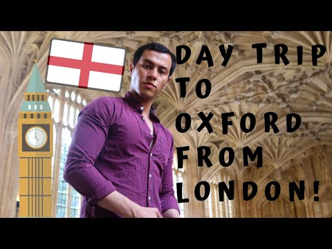 Oxford Day Trip From London!