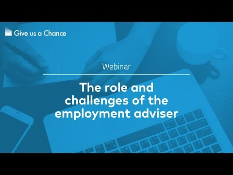 The role and challenges of the employment adviser