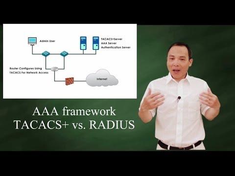 AAA framework: TACACS+ vs RADIUS