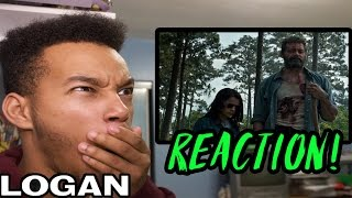 Logan official trailer reaction!