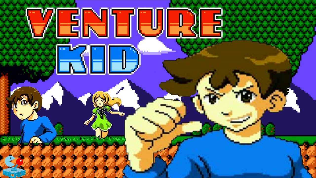 Venture Kid 8-bit Retro Action Platformer (By FDG Mobile Games) - iOS /  Android