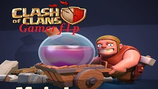 Live Clash of Clans farmando para Muro nível 9