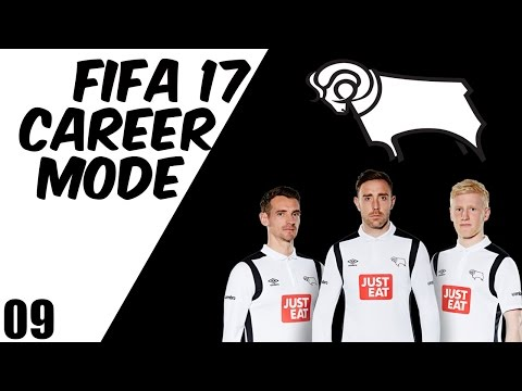 FIFA 17 DERBY COUNTY CAREER MODE EP9 - ENGLAND INTERNATIONAL SIGNING