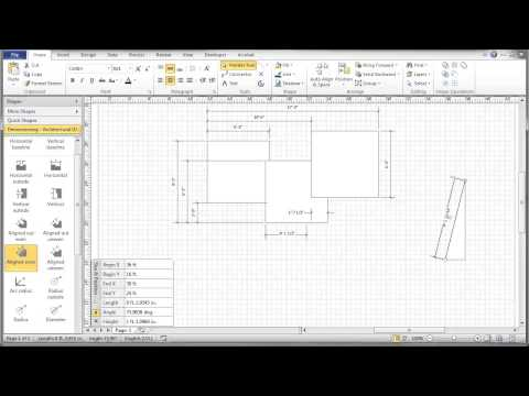 Visio Dimensioning Tutorial