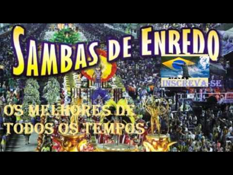 MELHORES SAMBAS ENREDO DE TODOS OS TEMPOS RJ
