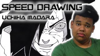 Speed Drawing - Uchiha Madara [うちはマダラ]