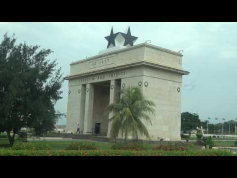 Independence Square 60 Years from 1957 - Ghana Tour May 2017
