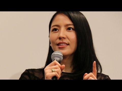 長澤まさみ、毎日9時間の猛勉強で中国語をマスター!DVD「ショコラ」発売記念試写会1 #Masami Nagasawa #Chocola