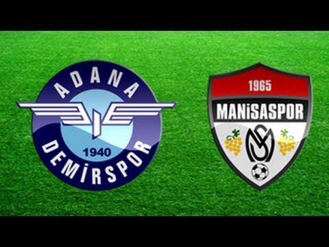 Adana Demirspor 2-2 Manisaspor (28.03.2014) PTT 1. Lig 32. Hafta