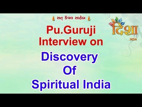 Pu.Guruji Interview On Disha TV Channel