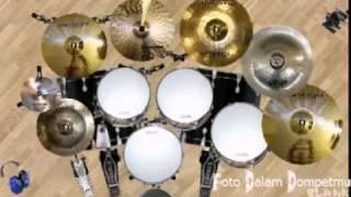 vuclip Dany's Virtual Drum 2 -  Slank - Foto Dalam Dompetmu (drum cover)