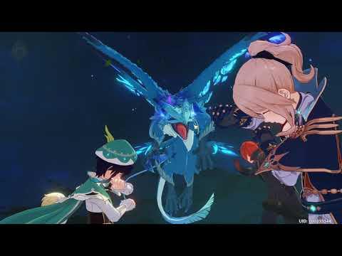 How to beat Stormterror Dvalin in Genshin Impact - Erstwhile King of the Skies Full Boss Fight