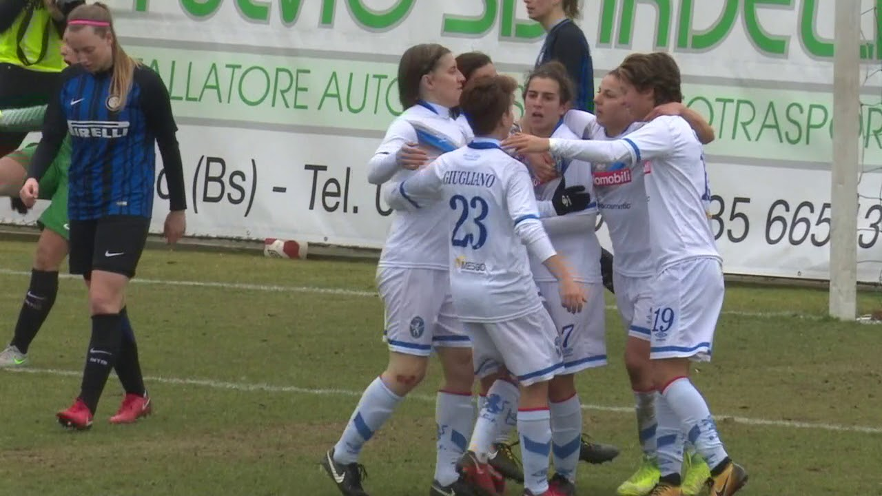Brescia Cf Inter Highlights And Goals 21 02 2018 Youtube