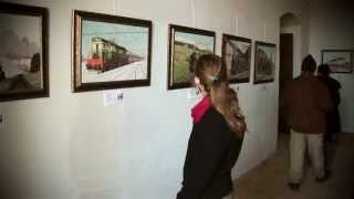 Galerie umění - Zámek Sloupno 05/2013 (část 2/3) -  Jiří Šeps, Zuzana Koťanová, Tomiš Zedník
