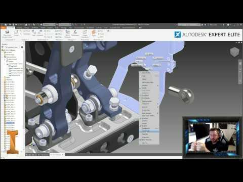 Worlds Biggest Ever Autodesk Inventor Live Stream! 04-Jan-17