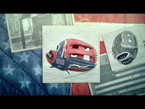 American Flag Baseball/Softball Glove