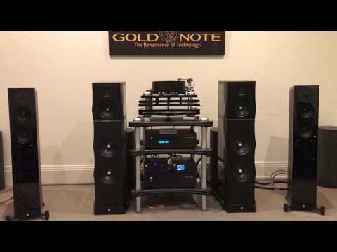 Complete Gold Note Set Up at Sound Gallery Melbourne