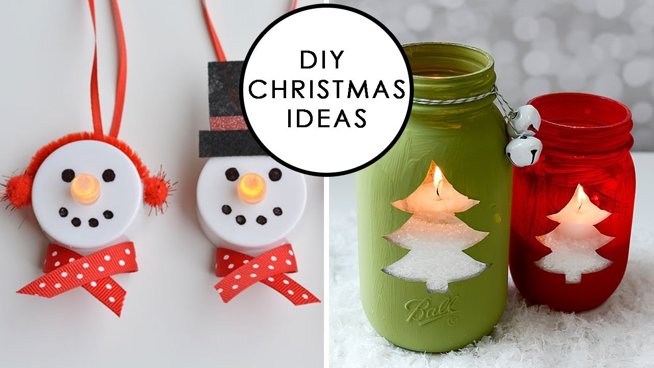 10 Awesome Diy Christmas Décor Ideas Youtube