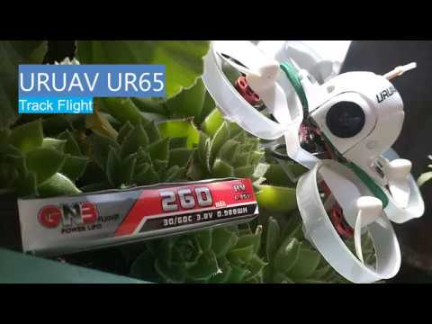 URUAV UR65  track flight