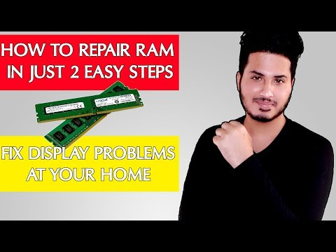 How to repair RAM (hindi) - Fix PC display issues at your home in 2 steps