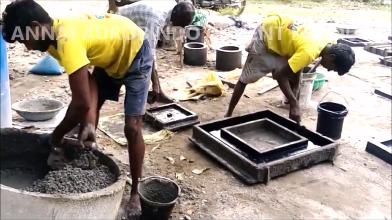 Concrete Manhole Covers and Frame DIY