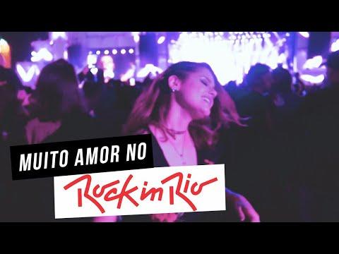 Muito amor no ROCK IN RIO