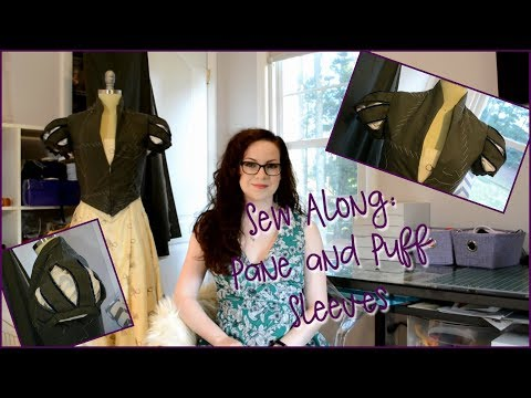 Sew Along: Puff and Pane Sleeves from The Tudor Tailor Part 2
