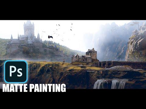 How To Make A Creative Manipulation Effect !! Matt Painting !! Photoshop Tutorial
