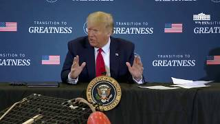 President Trump Participates in a Roundtable on Supporting America's Commercial Fishermen