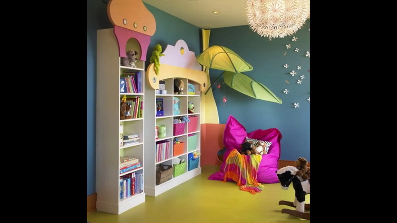 Ideas de decoraci n inicio de guarder a youtube for Ideas para decorar paredes infantiles