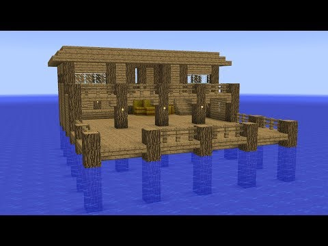 Minecraft - How to build a harbor