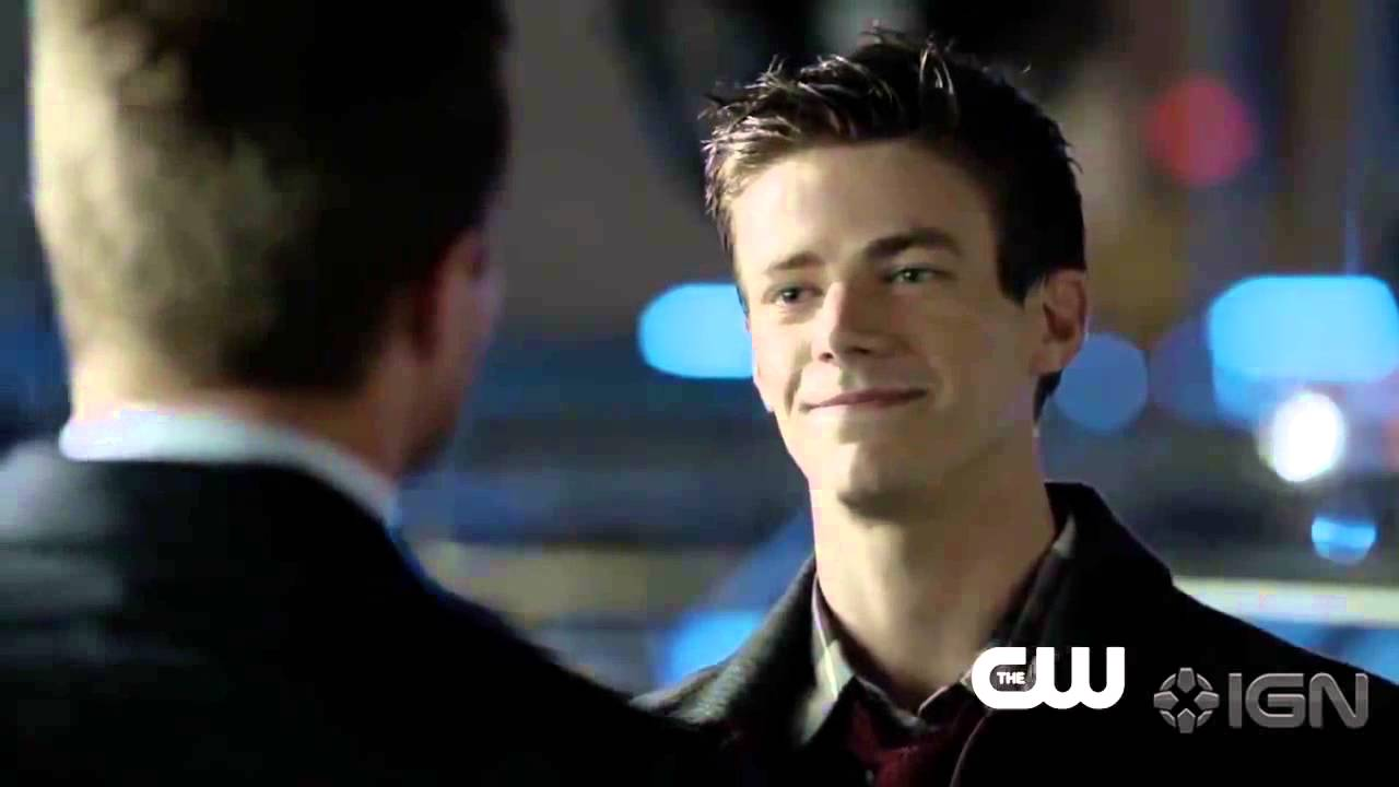 White & Nerdy | Barry Allen v. Felicity Smoak - YouTube