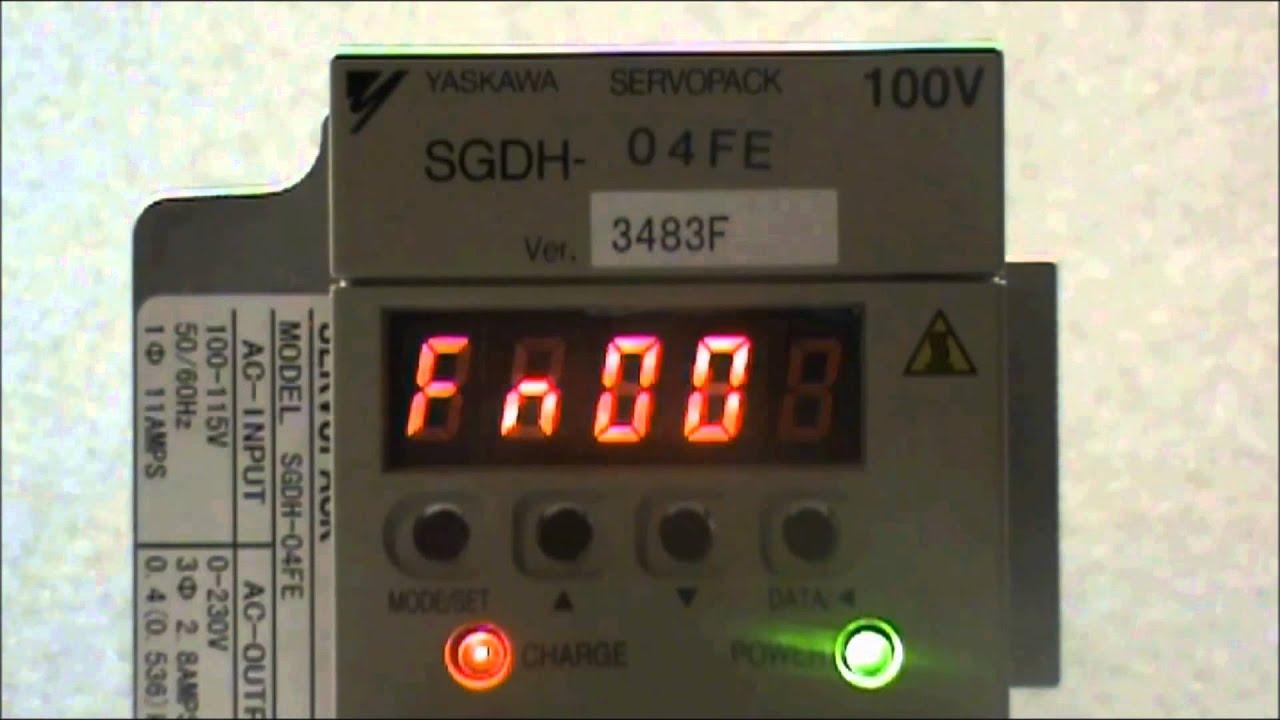 Hướng dẫn sử dụng Yaskawa Sigma II SGDM