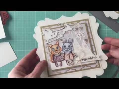 Winter Critters Gift Card Holder { La-La Land Crafts TV }