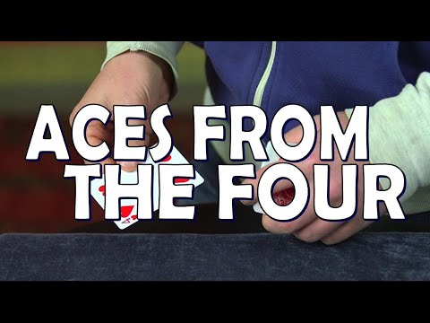 Magic Review: Stephen Tucker's Aces From The Fore by Big Blind Media