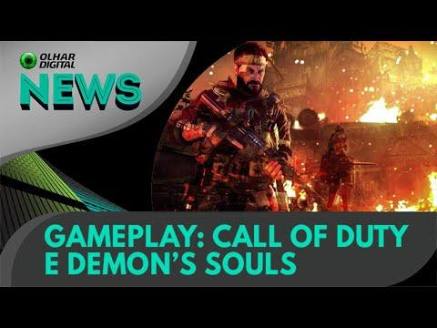 Ao Vivo   Gameplay: Call of Duty e Demon's Souls   01/12/2020   #OlharDigital