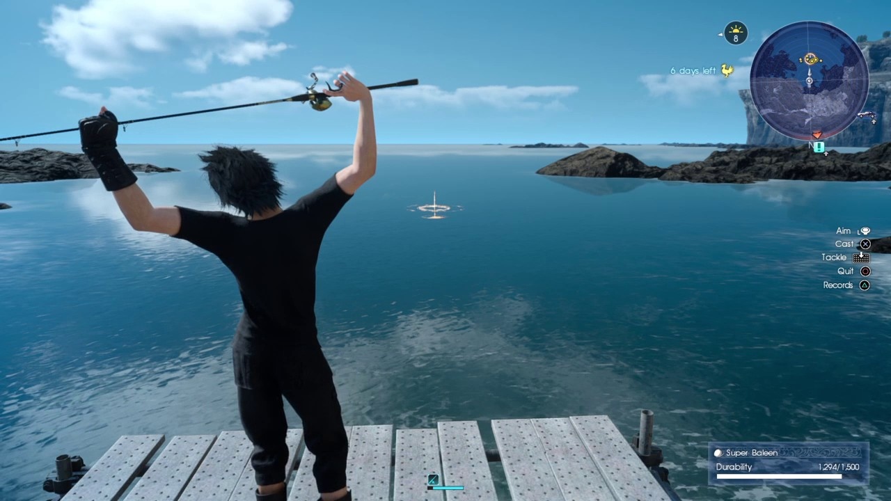 Final fantasy xv fishing youtube for Final fantasy 15 fishing