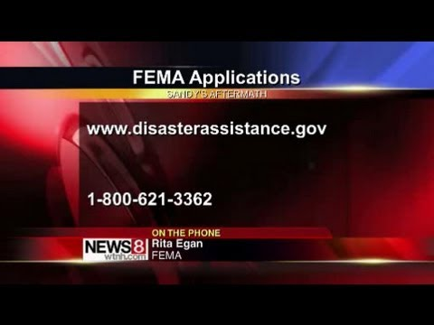 Getting disaster assistance from FEMA