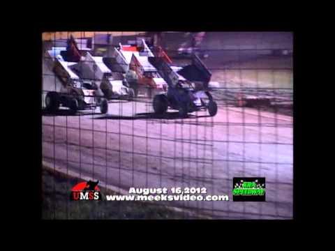 UMSS Sprint Highlights 8-16-2012