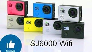 sJ6000 Wifi распаковка новой экшен камеры, сравнение с Gopro 3, SJ5000 Amkov! Banggood