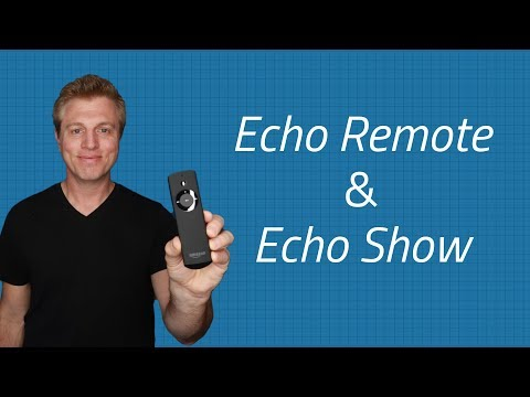 Echo Show with Amazon Echo Remote - Setup and Using the Voice Remote